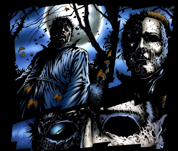 Halloween Comics The Weird History Of Michael Myers On The Page Den Of Geek