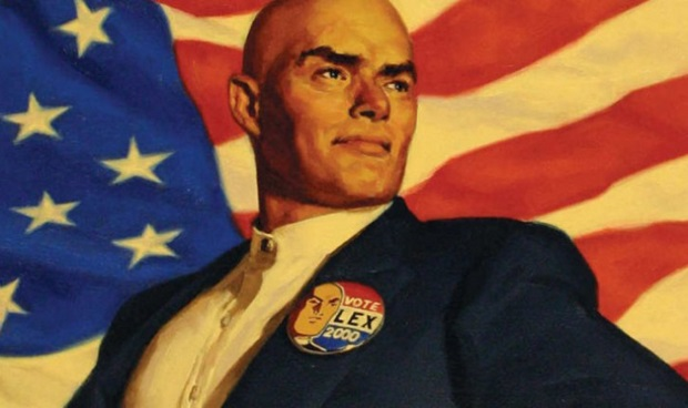 Lex Luthor as President of the United States in DC Comics