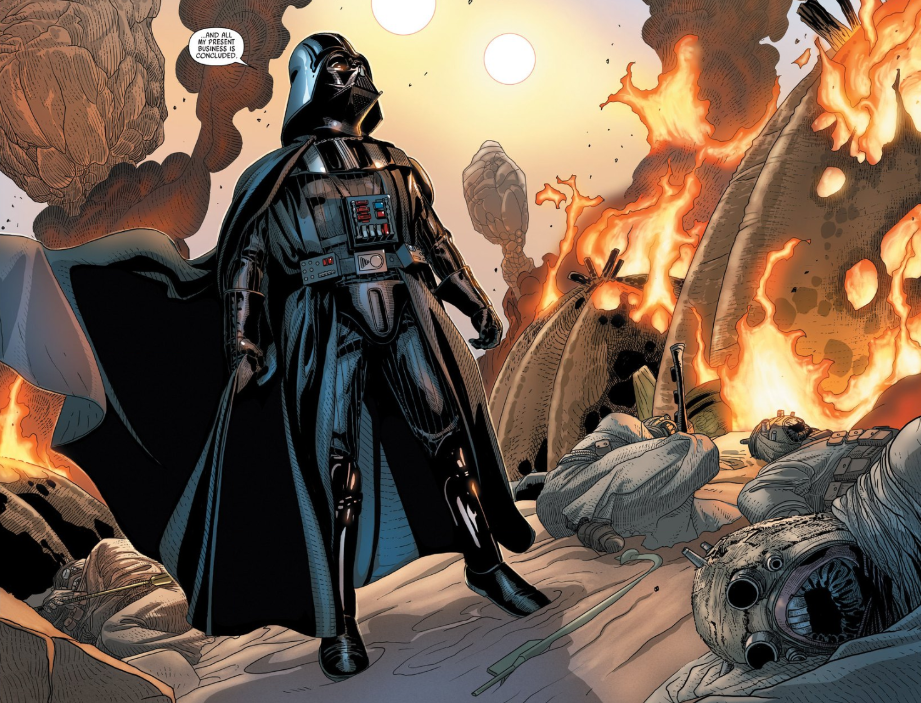 Star Wars Darth Vader S Best Moments From The Marvel Comics Den Of Geek