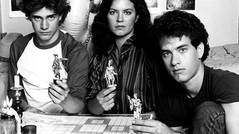 Mazes and Monsters 1982 Tom Hanks Cast Photo