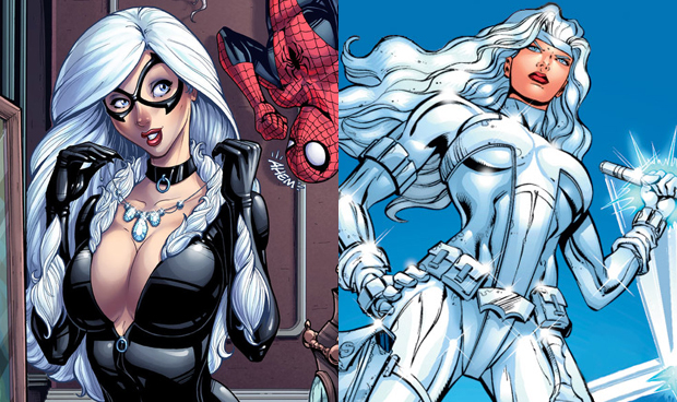 Spider-Man, Black Cat, and Silver Sable