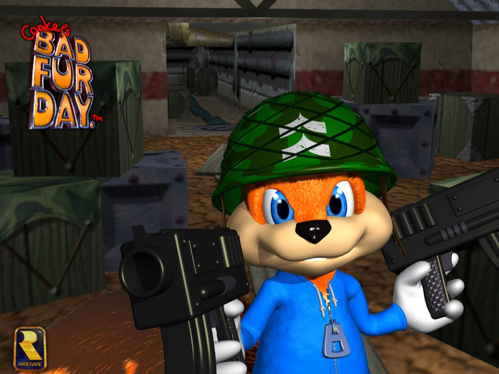 Old School Cool The Inimitable Conker S Bad Fur Day Den Of Geek