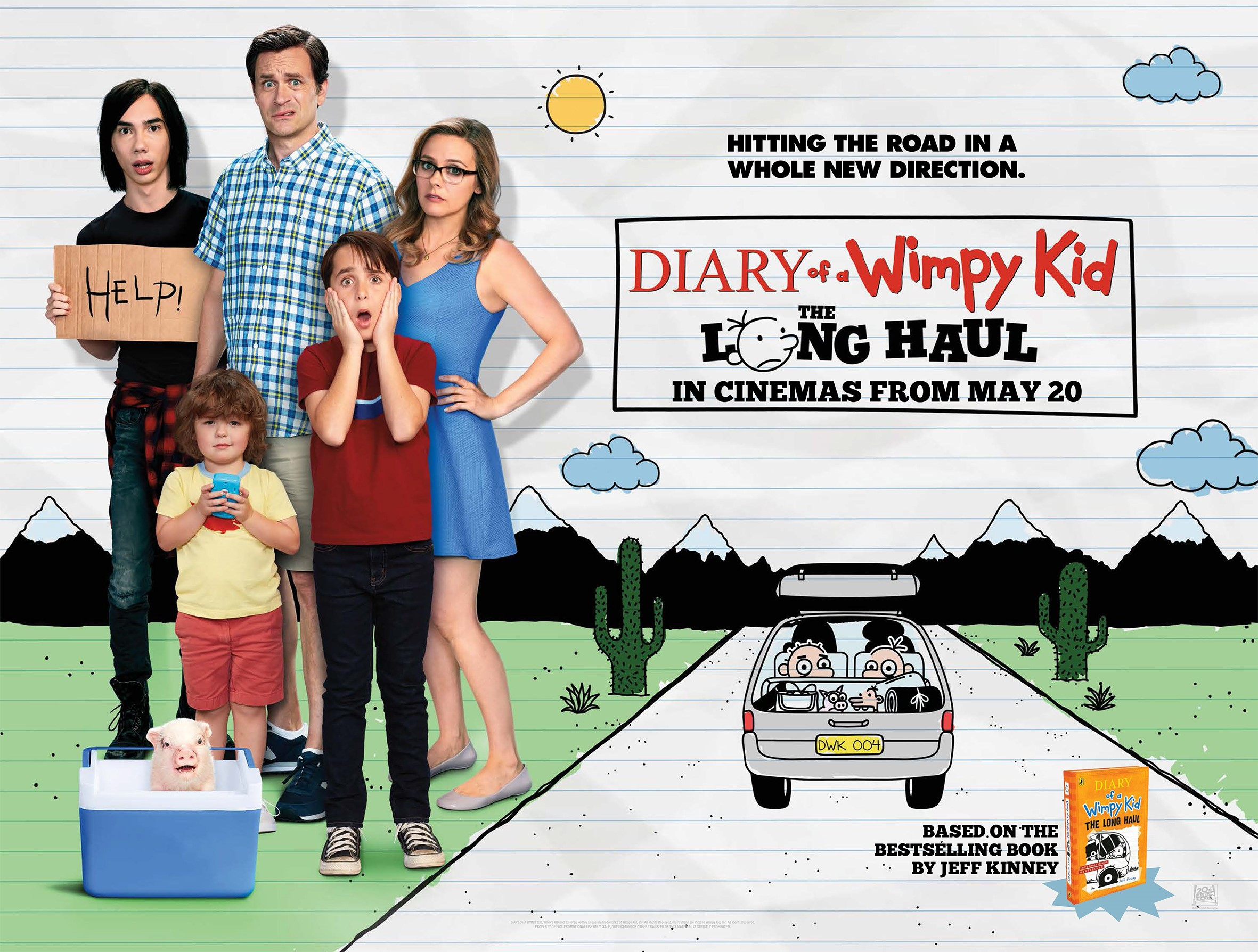 Diary Of A Wimpy Kid The Long Haul Review Den Of Geek