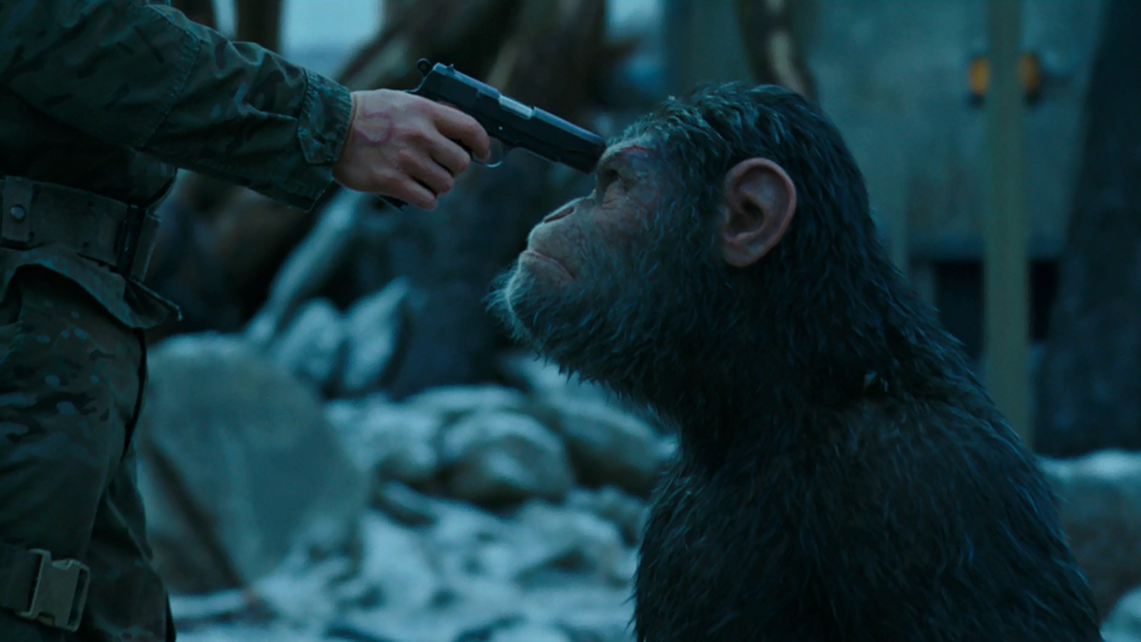 War For The Planet Of The Apes Review Den Of Geek