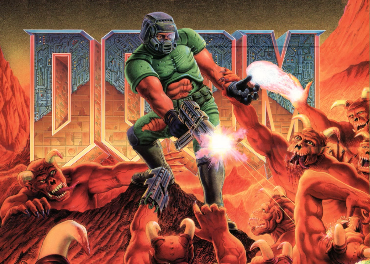 John Romero Reveals Who The Doom Guy Was Based On Den Of Geek