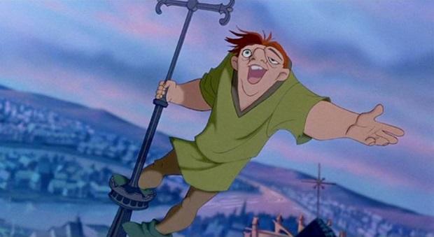 Quasimodo in Disney's The Hunchback of Notre Dame