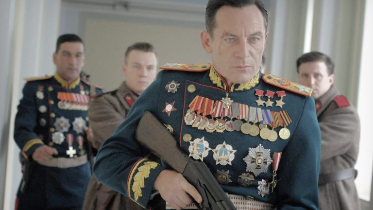 Jason Isaacs as Georgy Zhukov in The Death of Stalin