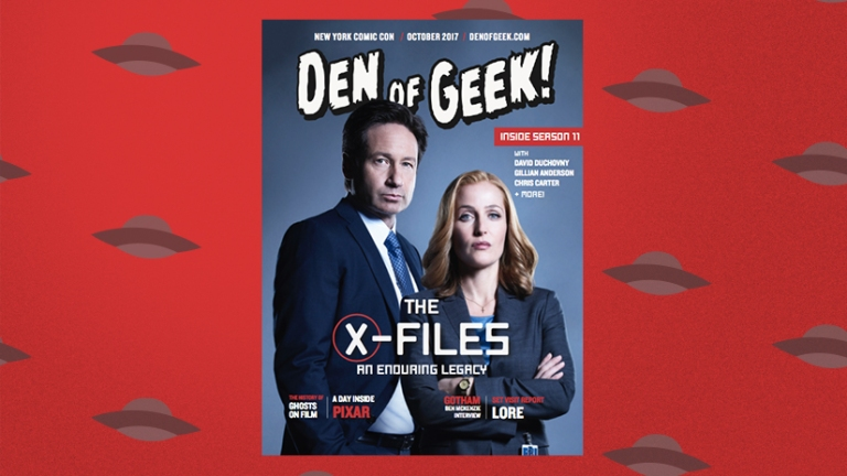The X-Files Lands on the Cover of Den of Geek Magazine