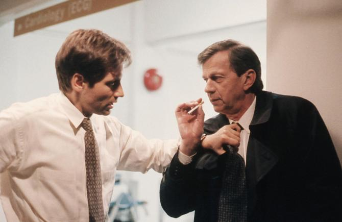 The cigarette-smoking man became the main antagonist on The X-Filesas he was just meant to be a background role.
