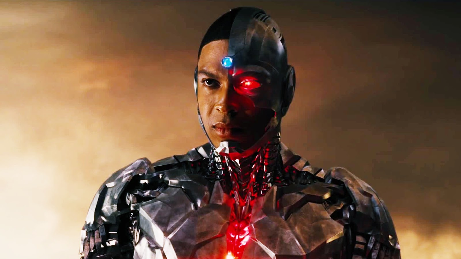 Ray Fisher as DCEU's Cyborg