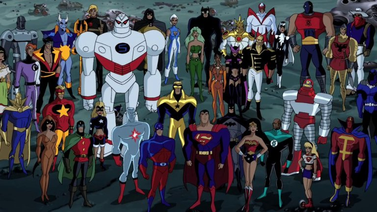 Justice League Unlimited Animated Series Cast