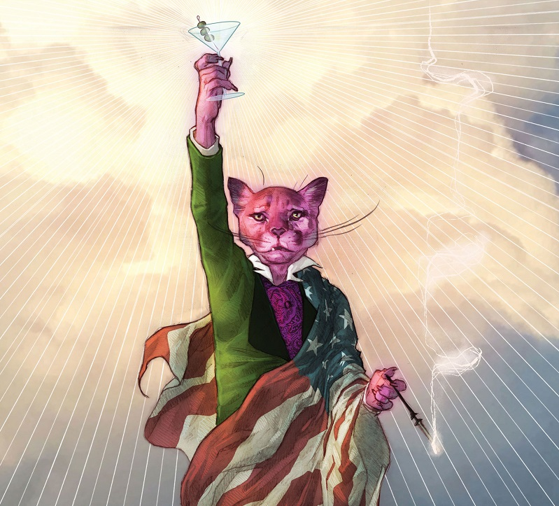 Exit Stage Left: The Snagglepuss Chronicles #1 Review - Den of Geek