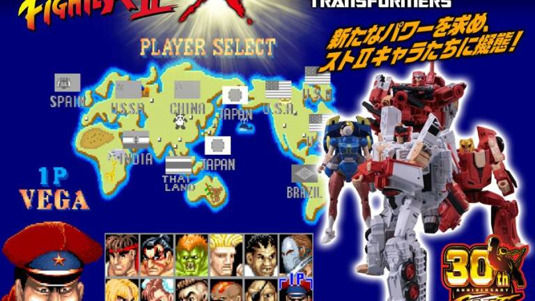 Street Fighter Transformer Action Figures Are Coming To Japan