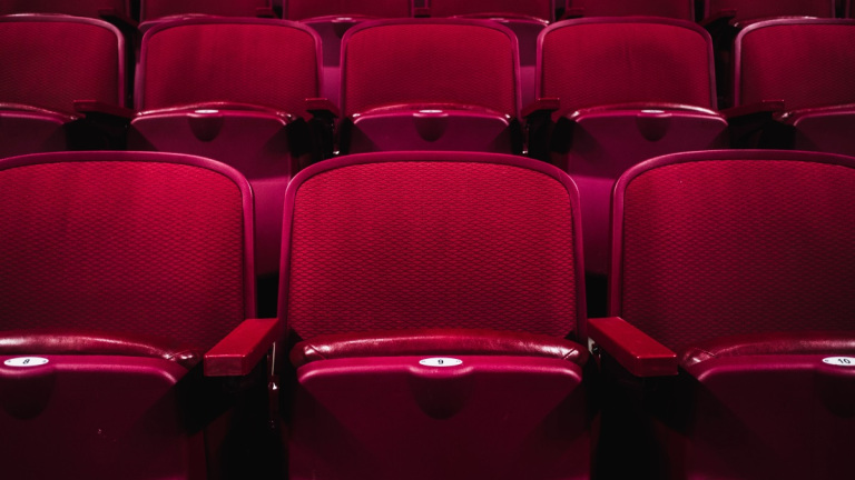 A Section of Theater Seats