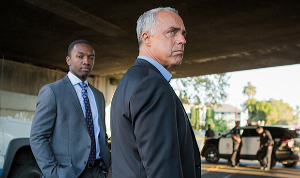 Jamie Hector and Titus Welliver on Amazon's Bosch