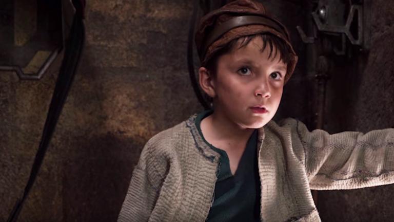 Star Wars: The Last Jedi Broom Boy