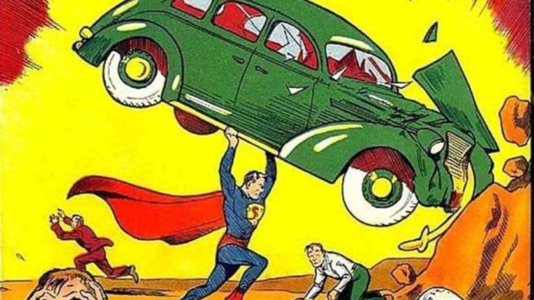 Superman in Action Comics #1
