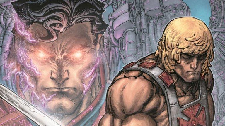 22+ He Man Vs Superman Injustice PNG
