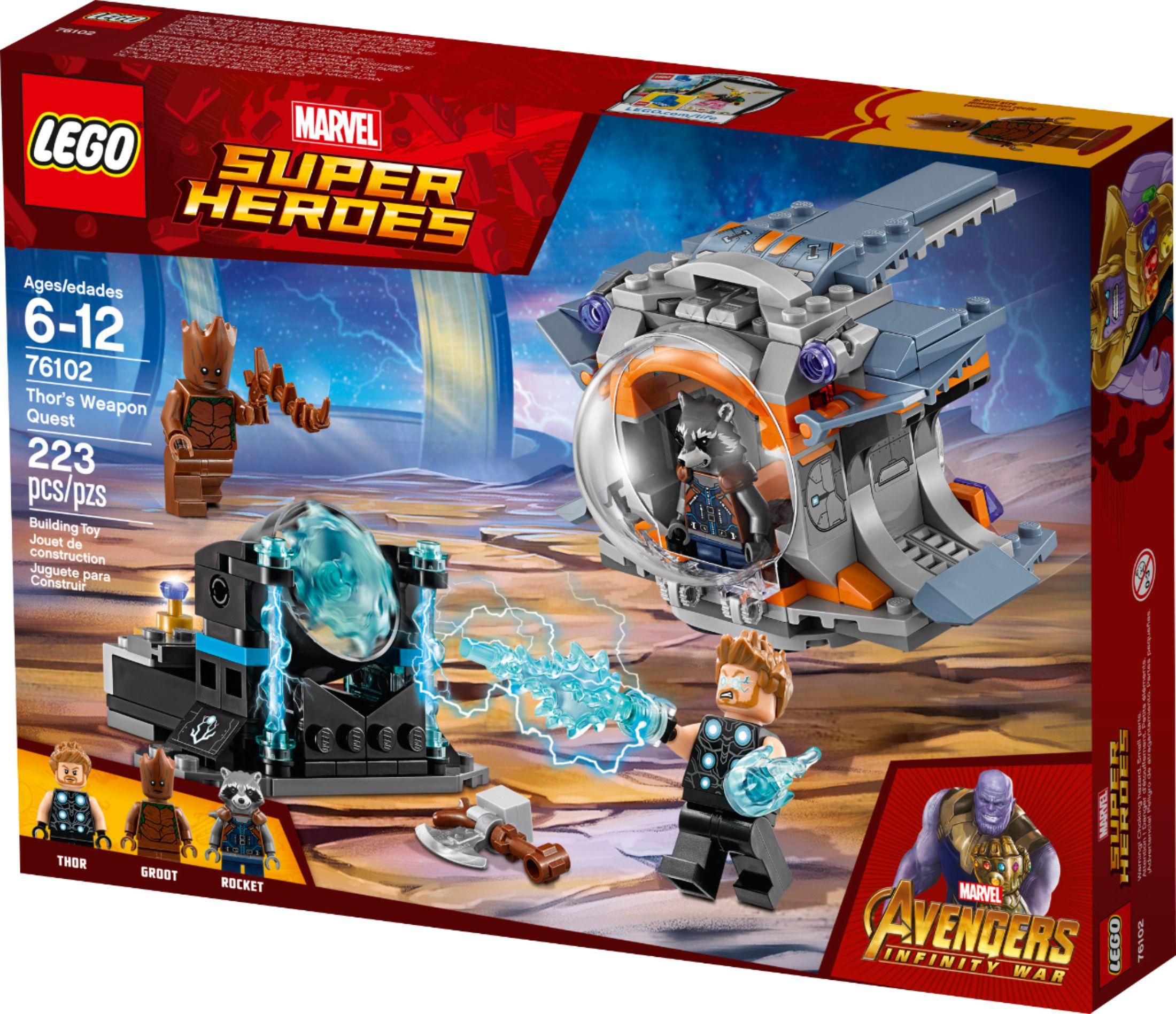 GENUINE Set of 6 Infinity Stones! LEGO Avengers Infinity War
