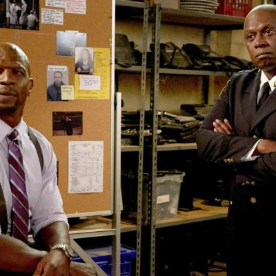 Terry and Captain Holt