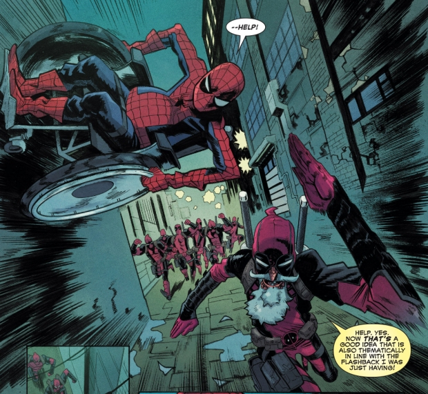 Spider Man And Deadpool Their Smart Alecky History Den Of Geek