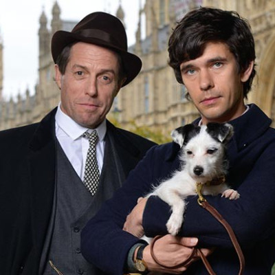 Hugh Grant and Ben Whishaw in A Very English Scandal