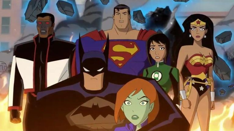 Justice League vs. The Fatal Five Animated Movie Arrives in April