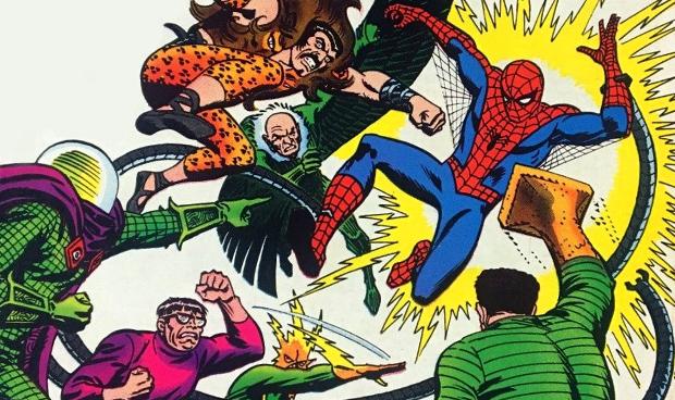 Marvel's The Sinister Six Spider-Man Villains