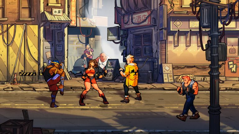 Streets of Rage 4 trailer