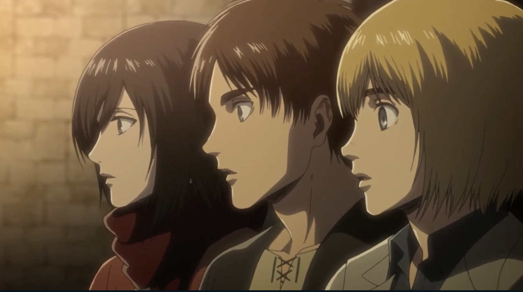 Attack on Titan Season 3 Episode 12 Review: Night of the Battle to Retake the Wall   Den of Geek