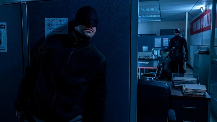 NEW DareDevil with Matt Murdock/'s Head plus 2 Baton Fighting Sticks Marvel