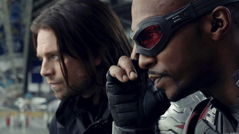 Anthony Mackie And Sebastian Stan As The Falcon And The Winter Soldier