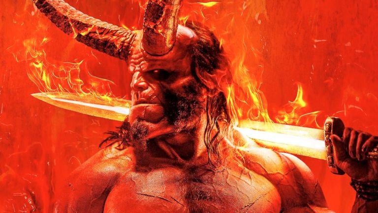 David Harbour as Hellboy in Hellboy Reboot
