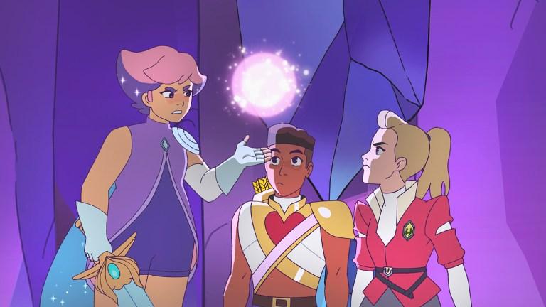 She-Ra Netflix Reboot - Glimmer, Bow, and Adora
