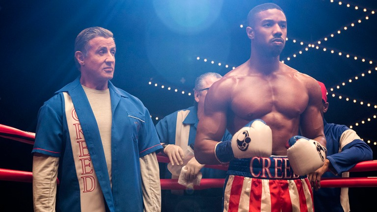 Creed 2 With Michael B. Jordan and Sylvester Stallone
