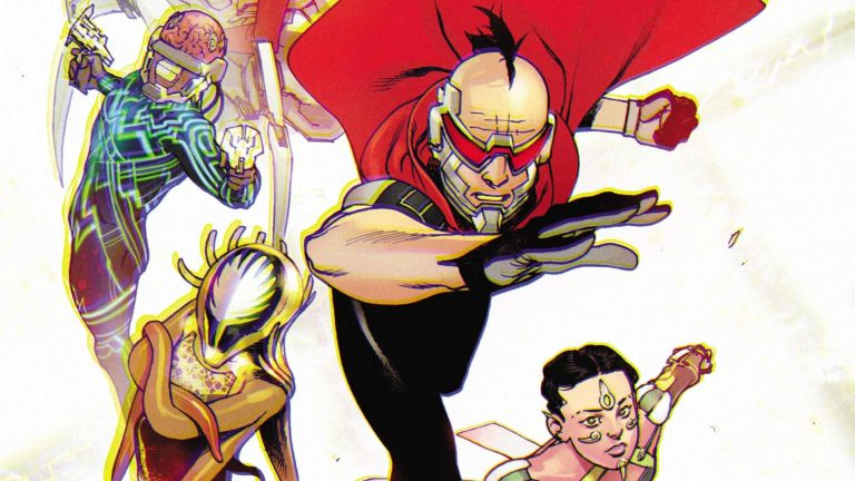 Electric Warriors DC Comics