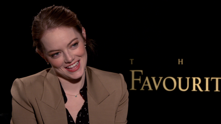 Emma Stone The Favourite Interview