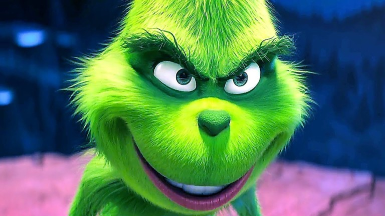 The Grinch voiced by Benedict Cumberbatch