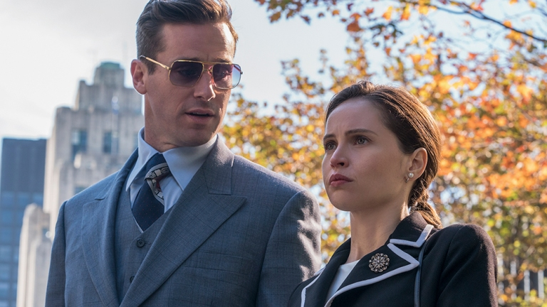 On the Basis of Sex Review Felicity Jones Armie Hammer
