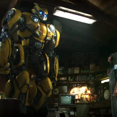 Bumblebee and Charlie (Hailee Steinfeld)
