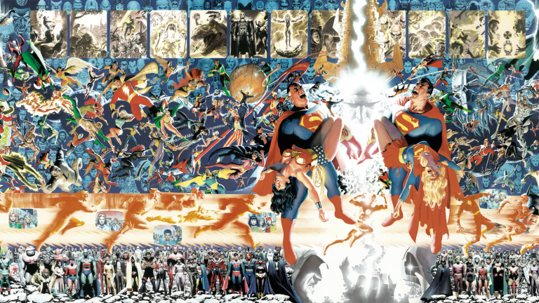 Crisis on Infinite Earths by Alex Ross
