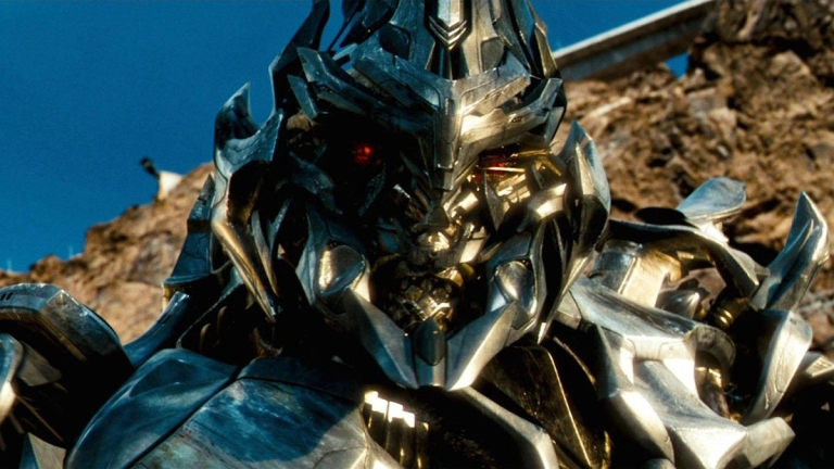 Megatron in the Transformers Movies