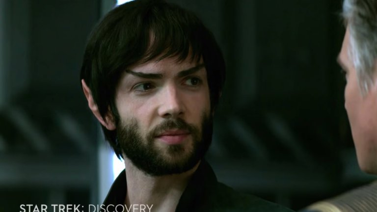 Star Trek: Discovery Season 2 - Spock Smiling