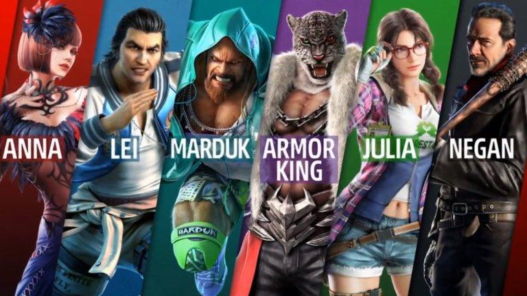 Tekken Season 2 Roster