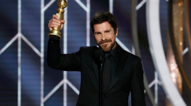 Christian Bale Golden Globe Church of Satan