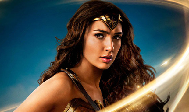 Gal Gadot, Wonder Woman movie poster