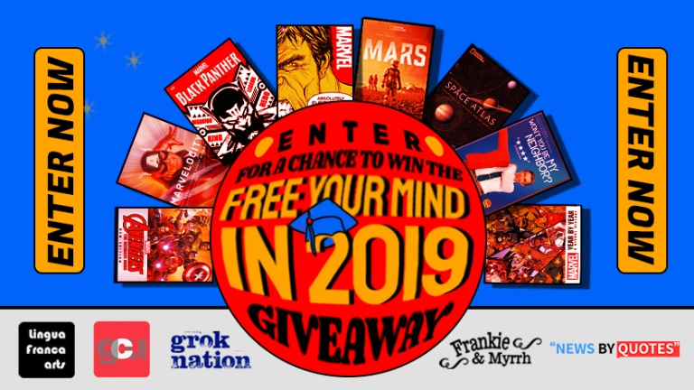 Free Your Mind in 2019 Giveaway