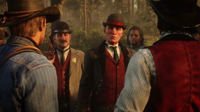 Red Dead Redemption 2 Pinkerton Agents
