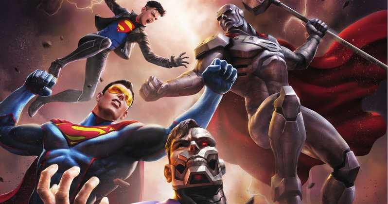 Reign of the Supermen: 2018 DC Universe Animated Movie