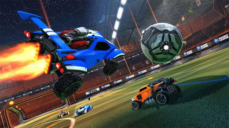 Rocket League PS4 cross play